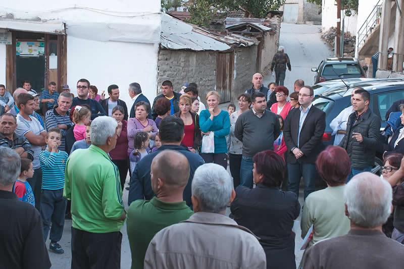 Жителите од Бегниште побараа земјоделските површини да им се одземат на функционерите и профитери од ДПМНЕ!