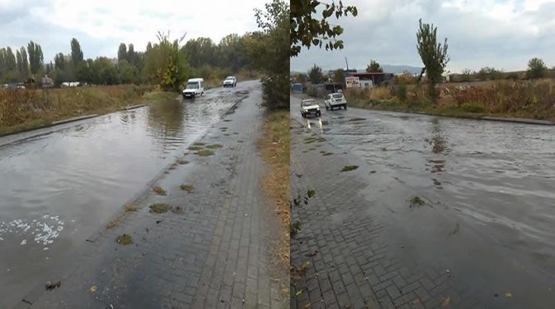 """Во Кавадарци заврна дожд, """"швајцарските"""" улици на Панов до колена со вода"""