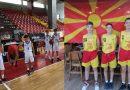 """Четири репрезентативци од  КК """"СПОРТИСИМО"""" во младинските кошаркарски селекции"""